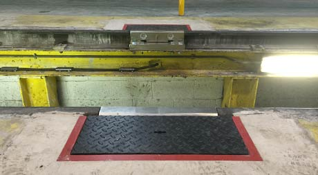 low cost train weighbridge