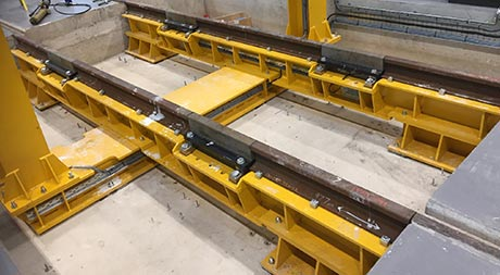 train depot bogie weigher